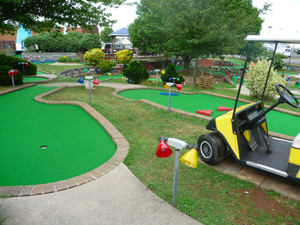 manassas VA miniature golf course